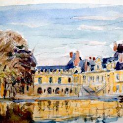 Château, Etang aux Carpes (approche 1)