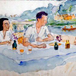 Repas en bords de Seine