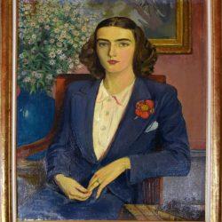Françoise jeune femme