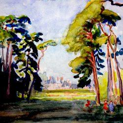 Fontainebleau au lieu-dit       « La Clairière »