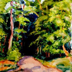 Chemin, forêt de Fontainebleau