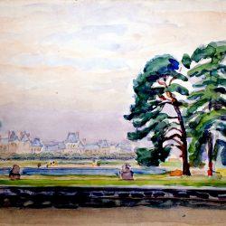 Le Bassin Rond, Château de Fontainebleau