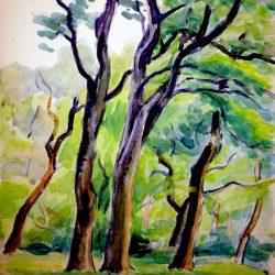 Fontainebleau, « Le Bréau » au printemps