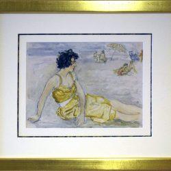 Françoise (Italie) (Aquarelle)