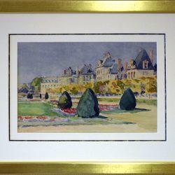 Jardins à la française     Château de Fontainebleau