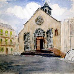 Italie, église Saint-Jacques à Florence