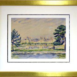 Bassin Rond   Château de Fontainebleau