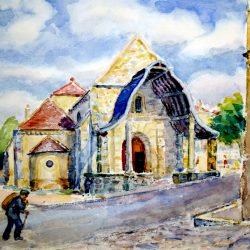 Eglise Saint-Pierre d'Avon (Seine & Marne, France)