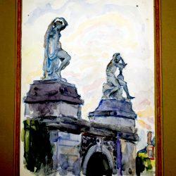 Statues, Château de Fontainebleau (exemple 1)
