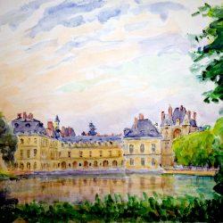 Château, Etang aux Carpes (approche 5)